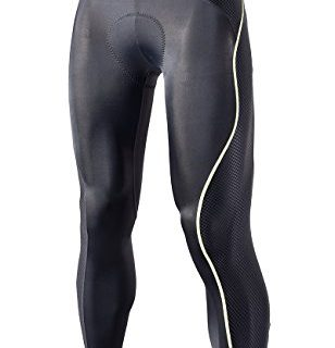 RION Pro Cycling Pants Men's Compression Padded Tights STEED-GA