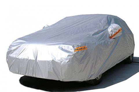Kayme Car Covers Waterproof All Weather Sunproof Light Strong Polyester For Automobiles Outdoor Toyota Camry Avalon Honda Accord Mazda 6 Nissan Maxima Altima Lexus Es350 3XL 181″-193″ L For Sedan
