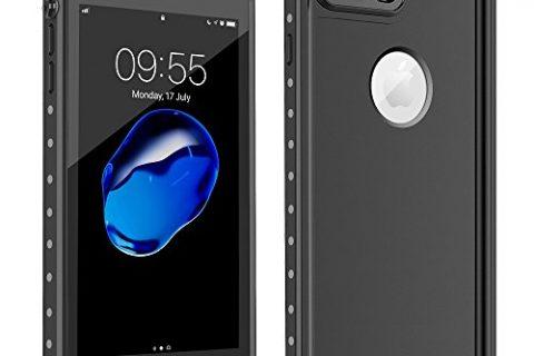 iPhone 7 Plus Waterproof Case,HTOCINQ IP68 Certified Full Sealed Underwater Cover Shockproof SandProof SnowProof Waterproof Case for iPhone 7 Plus 5.5 inch