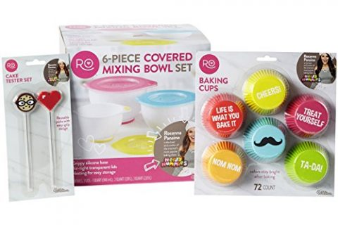 ROSANNA PANSINO by Wilton Nerdy Nummies Cupcake Baking Set