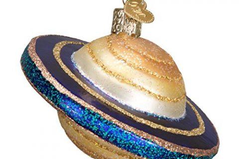 Old World Christmas Saturn Glass Blown Ornament