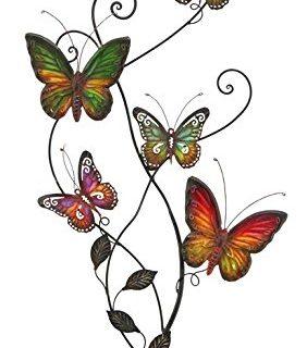Metal Wall Decor Butterfly Sculpture 29×15