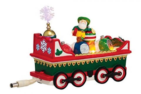 Department 56 North Pole Village Northern Lights Ornament Car Accessory, 2.17-Inch