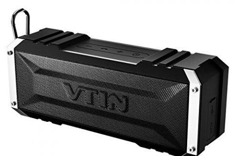 Vtin 20 Watt Waterproof Bluetooth Speaker, 25 Hours Playtime Portable Outdoor Bluetooth Speaker, Wireless Speaker for iPhone, Pool, Beach, Car, Home