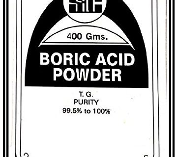 Surco Professional Boric Acid Powder for Carrom Board, 400gm