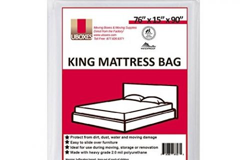 UBOXES Moving Supplies King Size Mattress Cover/Bag 76x15x90 KINGCOVER01