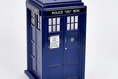Kurt Adler 9″ Dr Who Tardis Treetop with Light
