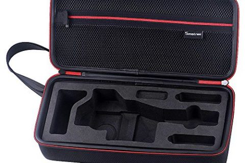 Smatree D300-1 Storage Carrying Case for DJI OSMO Handheld Camera and Accessories with Pre-Cut Foam InsertOsmo camera and accessory not included