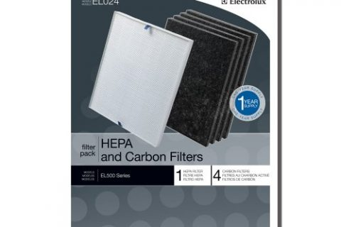 Genuine Electrolux HEPA and Carbon Filters EL024 – 1 HEPA filter, 4 carbon filters