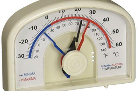 H-B DURAC Bi-Metallic Min/Max Thermometer; -30 to 60C -20 to 140F B61301-0300