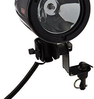 MadDog Gear Multi Mount 12V Spotlight, Black
