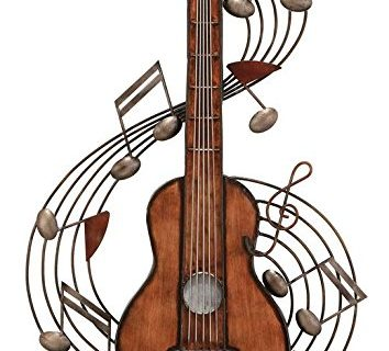 Deco 79 Metal Music Wall Plaque, 22 by 15″