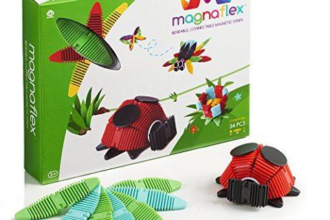 WowWee Magnaflex Critters Set 34 pieces – Flexible Magnetic Construction Kit