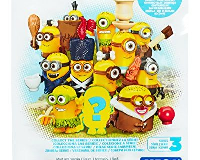 Mega Bloks Minions Blind Pack Series III Buildable Figure Styles May Vary