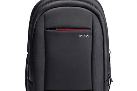 Laptop Backpack, Tomtoc 15.6 Inch Business Laptop Backpack Travel Bag College Backpack – Fits 15.6 Inch Laptops Notebooks Chromebooks, Waterproof