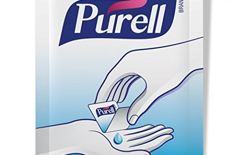 PURELL  Advanced Hand Sanitizer Singles – Travel Size Single Use Individual Portable Packets, 125 count Self Dispensing Packets in a Display Box – 9620-12-125EC