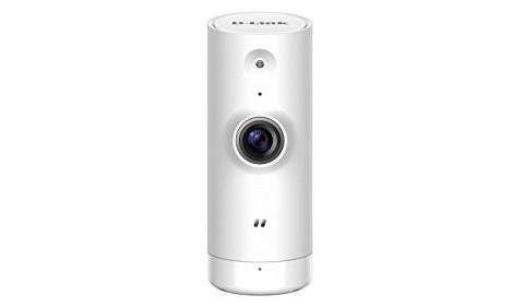 D-Link Mini HD Wi-Fi Camera – HD Resolution – Night Vision – Remote Access – Indoor – White DCS-8000LH