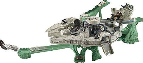 Hot Wheels Star Wars Millennium Falcon Playset with Movie Ticket