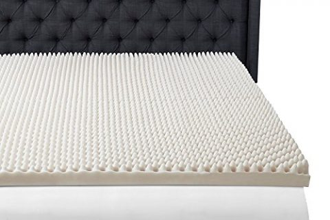 Beautyrest 3″ Convoluted Foam Mattress Topper, Twin