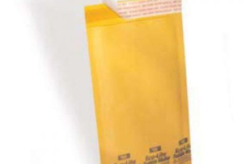 Polyair Eco-lite #3 ELSS3 Golden Kraft Self Seal Bubble Mailer,  8 1/2″ x  14 1/2″ Case of 100