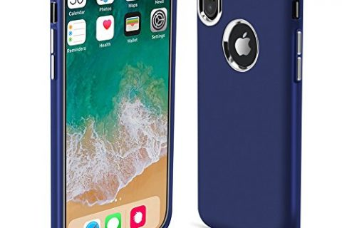 DOESIT iPhone X Case,TPU Slim Cratch Anti-Scratch Shockproof Protective Case for Apple iPhone X