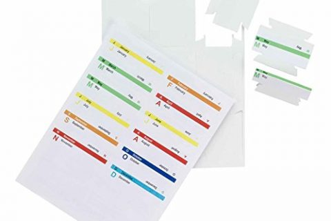 Smead Viewables Quick Fold Tabs, 45 per Pack 64912