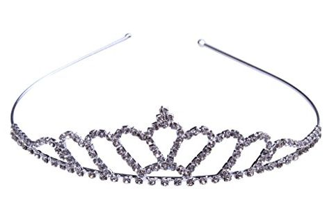Wedding Birdal Pageant Princess Tiara Headband Rhinestone Crown