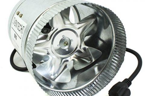 VenTech VT DF-6 DF6 Duct Fan, 240 CFM, 6″