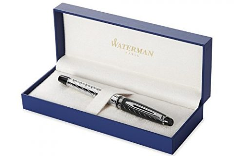 Waterman Expert Precious, Rollerball Pen with Fine Black refill S0963330