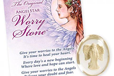 Angelstar 8718 Grace Angel Worry Stone, 1-1/2-Inch