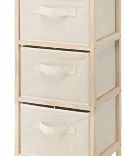 Whitmor Wood 3 Drawer Chest