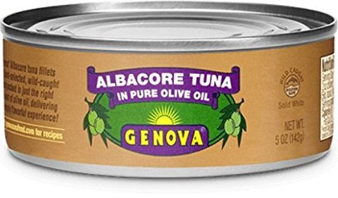 Genova Albacore Tuna in Olive Oil, 5 Ounce Pack of 12