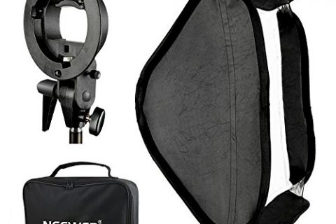 Neewer Photo Studio Multifunctional 32×32″/80x80cm Softbox with S-type Speedlite Flash Bracket Mount and Carrying Case for Portrait or Product Photography
