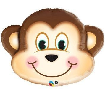 Mischief Monkey 35 Inches Xl Supershape Mylar Balloon