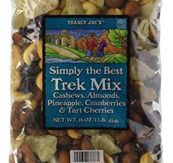 Trader Joe's Simply the Best Trek Mix with Cashews, Almonds, Pineapple, Cranberries, and Tart Cherries, 1 lb oz