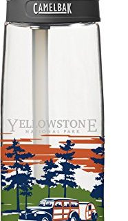 CamelBak 53972 National Parks Water Bottle, Yellowstone, 0.75 L