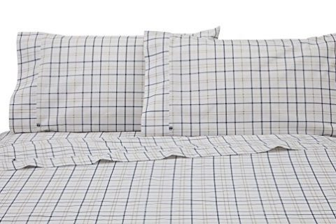 Izod Windowpane Plaid Sheet Set
