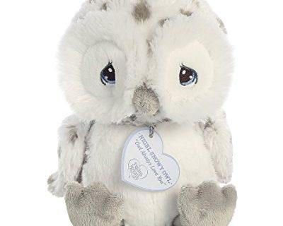 Baby Stuffed Animal by Aurora World – Precious Moments Nigel Snow Owl 8 inch