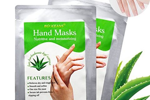 Moisturizing Gloves, Hand Peel Mask, Hand Mask, Spa Gloves Moisture Enhancing Gloves for Dry Hands, Exfoliating Hand Peeling Mask, Repair Rough Skin for Men Women, 2 pairs
