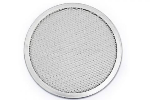 New Star Foodservice 50660 Pizza / Baking Screen, Seamless, Commercial Grade, Aluminum, 10 inch
