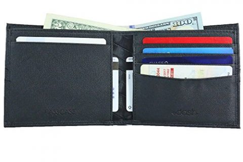 DASH Co. RFID Extra Capacity Bifold Passcase Men's Wallet