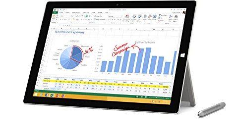 Free Windows 10 Upgrade – Microsoft Surface Pro 3 256 GB, Intel Core i7, Windows 8.1