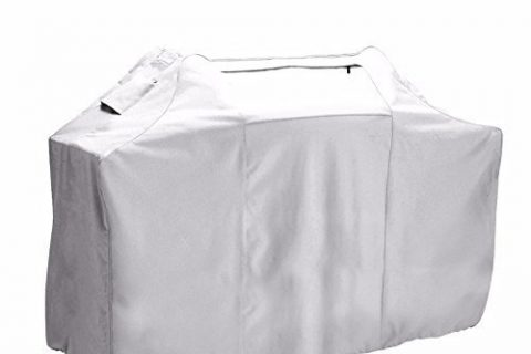 Leader Accessories Medium Patio Cart BBQ Cover Gas Grill Cover Water/UV Resistant Up To 58