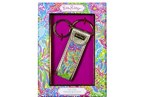 Lilly Pulitzer Lovers Coral Key Fob 163621