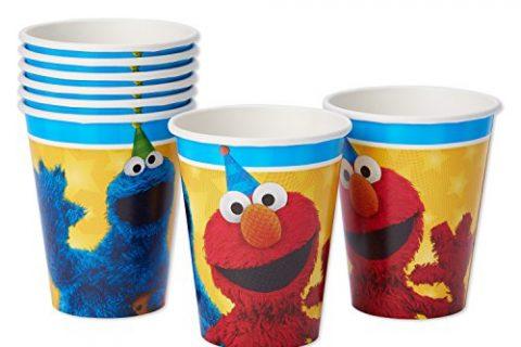 American Greetings Sesame Street 9 oz Paper Cups 8 Count