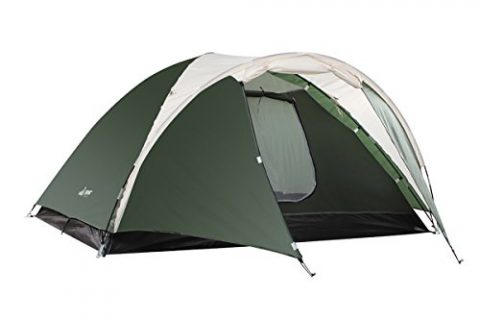 SEMOO Double Layer,3-4 Person, 3-Season Lightweight Camping/Traveling Tent with Carry Bag