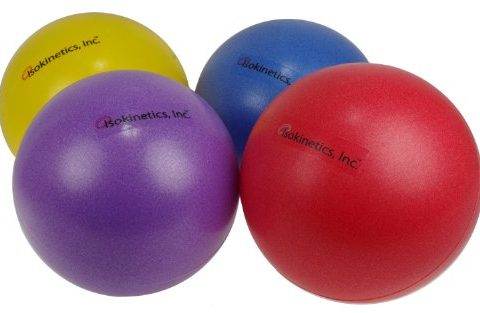 Choice of Colors – 25cm 7″ to 9″ – Sold Individually – Isokinetics Inc. Brand Mini Exercise Ball