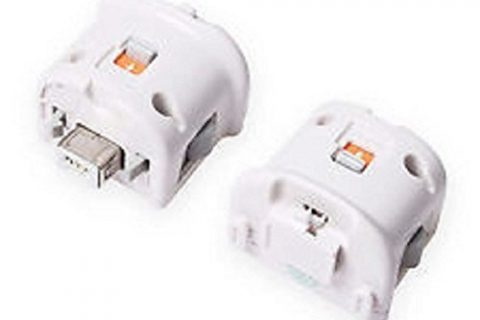 IDS Replacement for Nintendo Wii Motionplus White, 2pcs