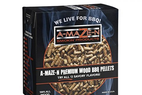 Smoker Chips – Grilling – A-MAZE-N 100% Hickory BBQ Pellets – 2 lb