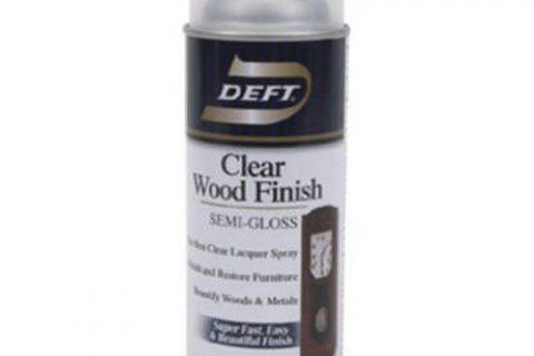 Deft Interior Clear Wood Finish Semi-Gloss Spray, 12.25-Ounce Aerosol